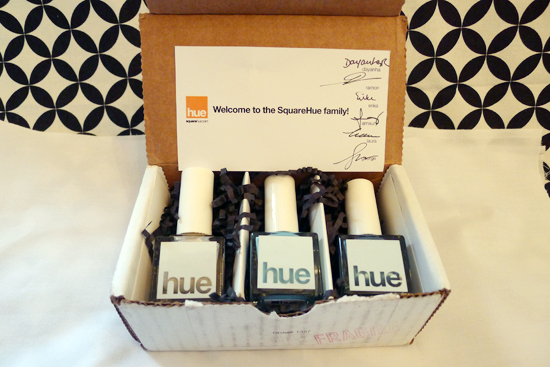 SquareHue January 2013 Box