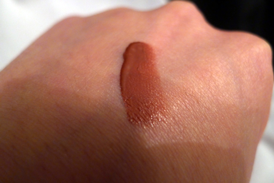 Shiseido Lacquer Rouge Liquid Lipstick - Savage Swatch